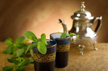 Die Teezubereitung in Marokko