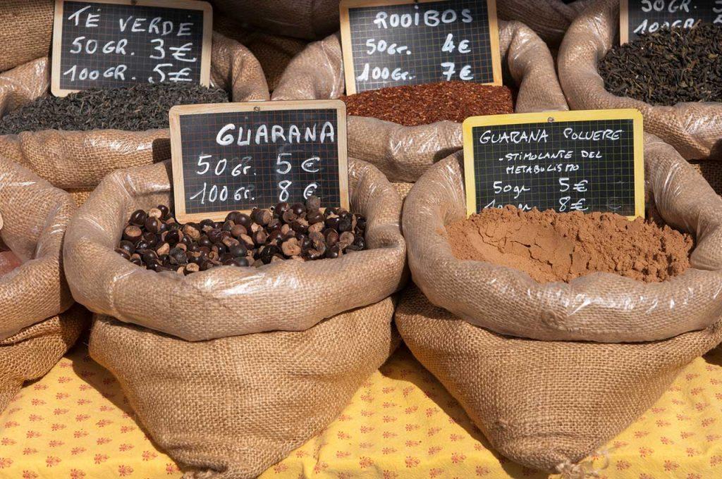 Guarana auf dem Markt