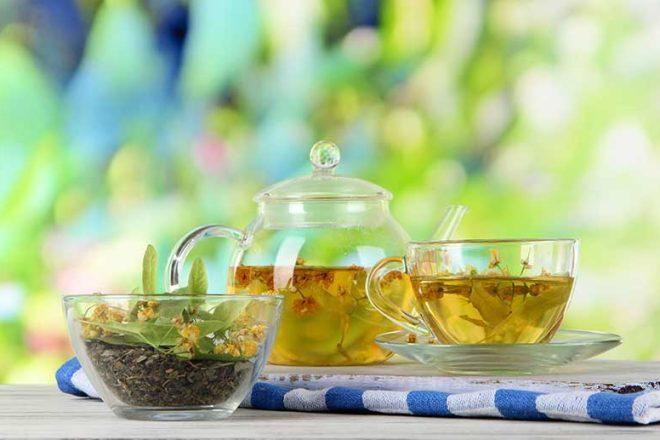 Frühlingskur mit Tee