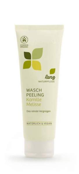Waschpeeling Kamille Melisse Lenz