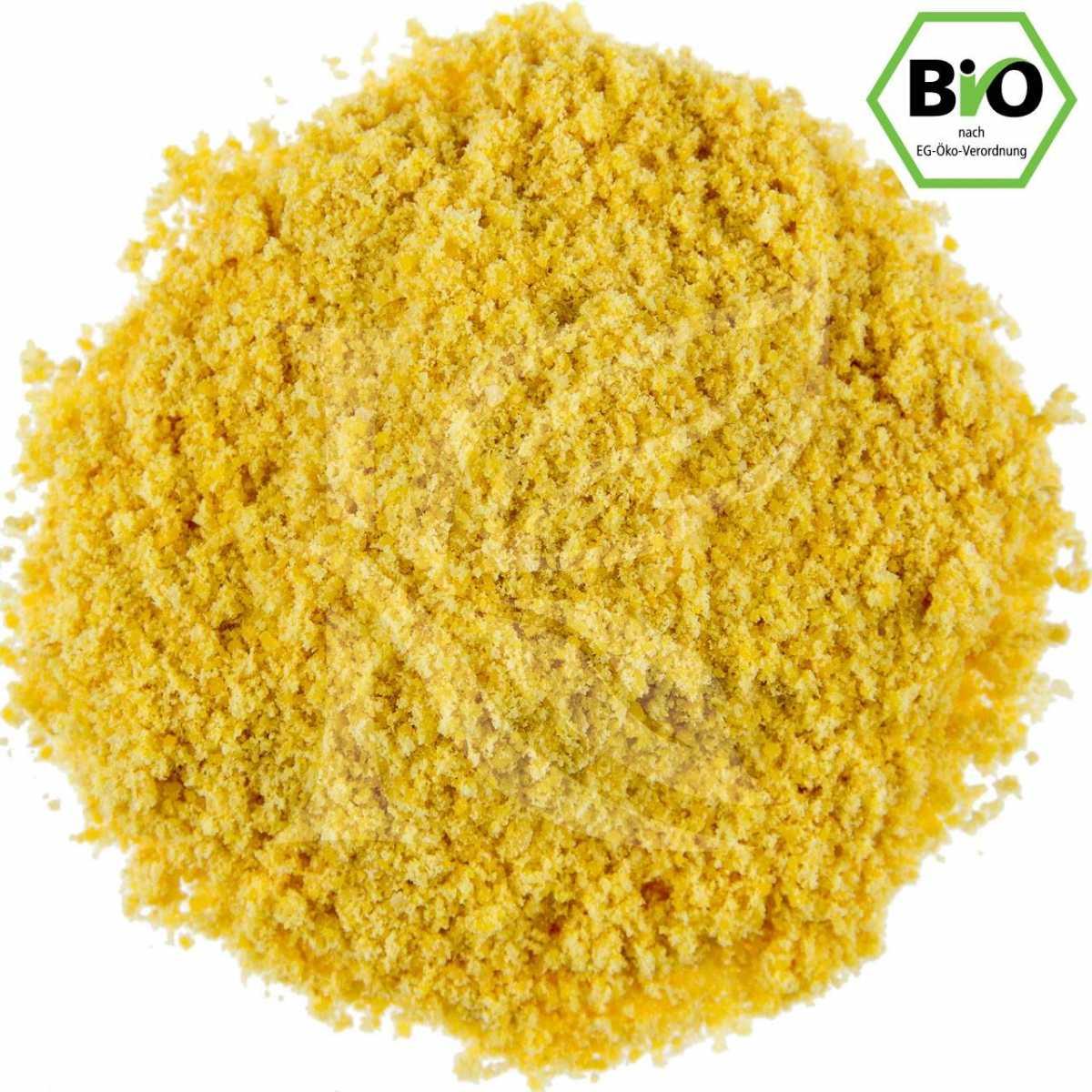 gemahlener Senf, gelb, Bio in unserem Onlineshop kaufen
