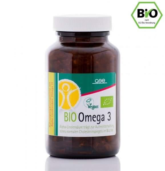 gse Omega 3 Perillaöl, 150 Kapseln, BIO