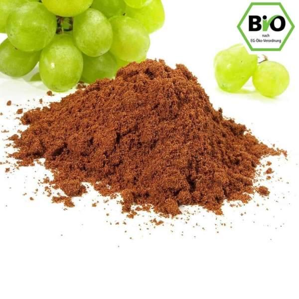 Traubenkerne gemahlen bio Pulver