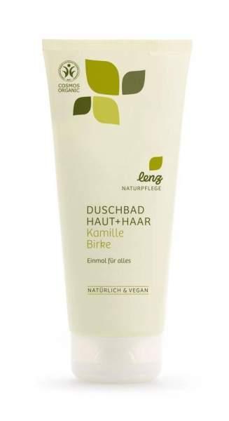 Duschbad Haut & Haar Kamille Birke Lenz Naturpflege