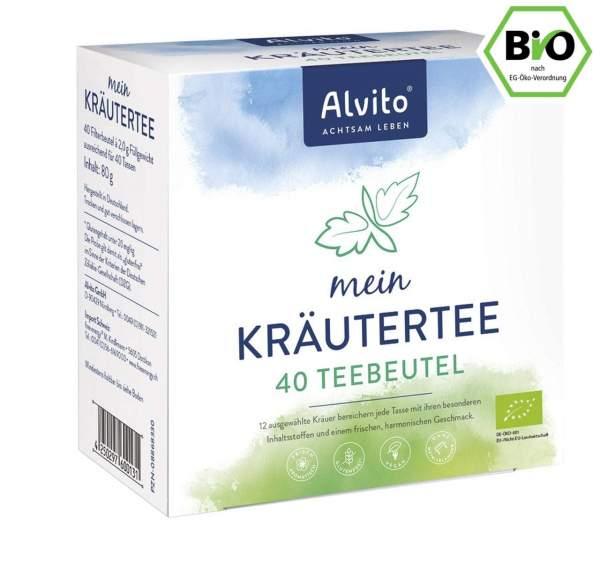 Alvito mein Kräutertee, BIO, Teebeutel