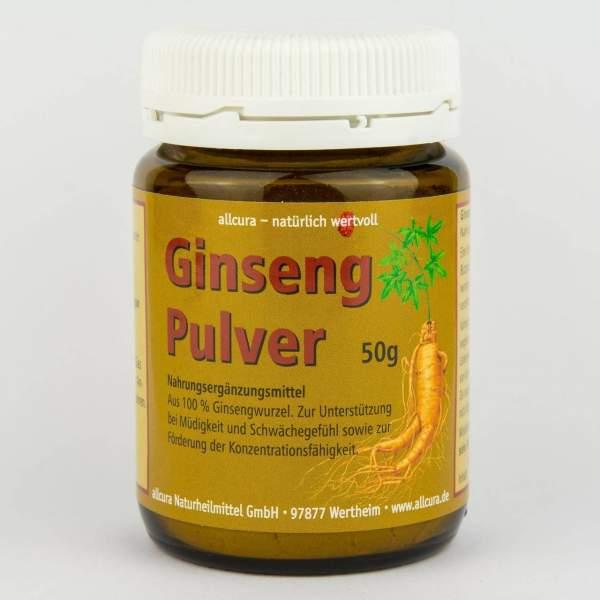 Ginseng Pulver