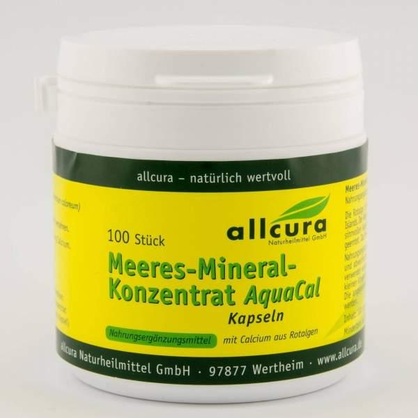 Meeres-Mineral-Konzentrat Aquacal, Kapseln