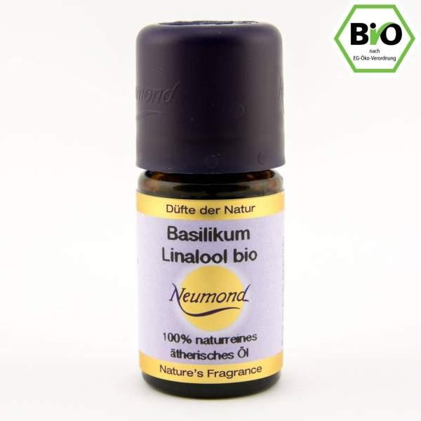 Basilikum Linalol, ätherisches Öl, BIO