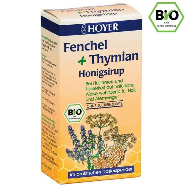 Hoyer Fenchel + Thymian Honigsirup