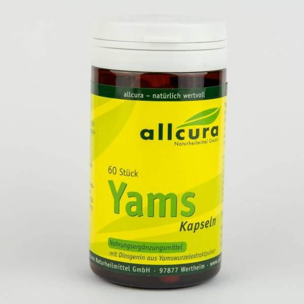 Yams Kapseln