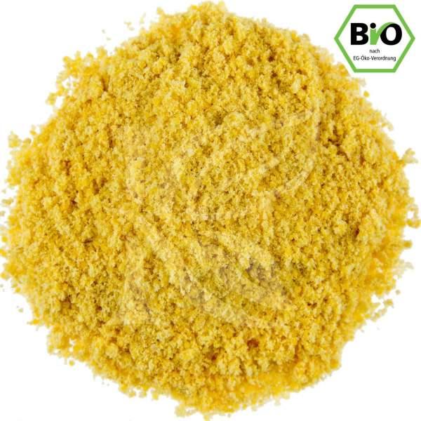 Gemahlener Senf, gelb bio