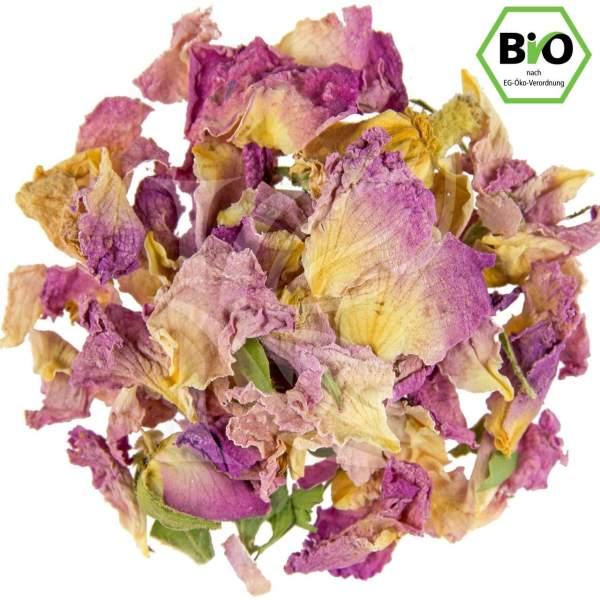 Rosa Rosenblütenblätter kaufen Bio