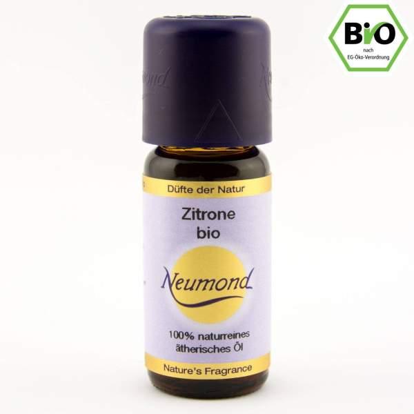Zitrone, ätherisches Öl, BIO