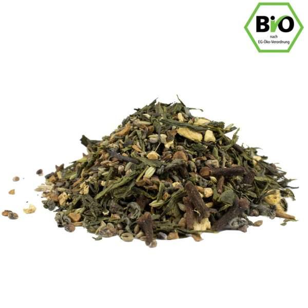 Grüner Chai, Bio-Tee