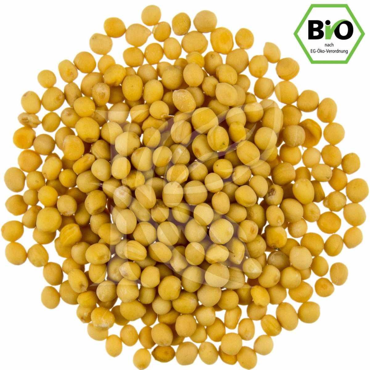 gelbe Senfkörner, Bio in unserem Onlineshop kaufen